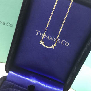 Tiffany & Co. - ティファニー T スマイル ネックレス ダイヤ