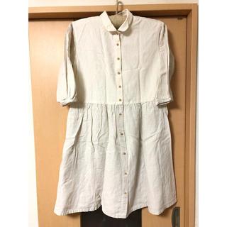 イクナ(ikkuna)のシャツワンピース(ひざ丈ワンピース)