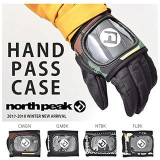 【新品】 north peakハンド パスケース リフト券入れ スノーボード ス
