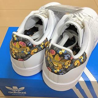 アディダス(adidas)のadidasスタンスミス 定価16200円以上‼️フラワーパターン‼️(スニーカー)