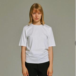 ビームス(BEAMS)のATON スビンパーフェクトショートスリーブTシャツ ホワイト(Tシャツ(半袖/袖なし))