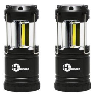 超人気!LEDランタン スライド 折り畳み 電池式 2個(ライト/ランタン)