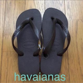havaianas - ハワイアナス   ビーチサンダル   ブラウン  レディース 37/38