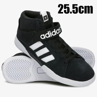 アディダス(adidas)の25.5cm アディダスオリジナルス  VRX MID 黒 ブラック(スニーカー)