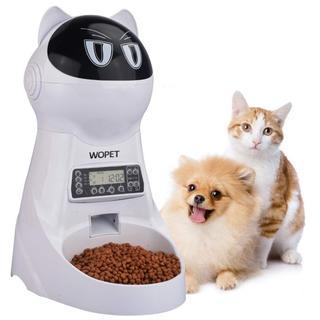 ★値下げ!週末まで!自動給餌器 3.5L 小型 犬 猫 (猫)