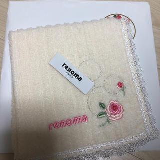 レノマ(RENOMA)のrenoma ハンドタオル Rose(ハンカチ)
