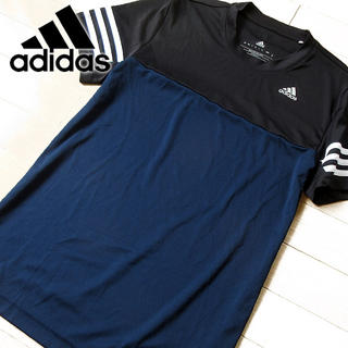 アディダス(adidas)の超美品 M アディダス drydye climaLITE メンズ 半袖Tシャツ(Tシャツ/カットソー(半袖/袖なし))
