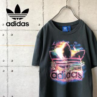 アディダス(adidas)の【激レア】 adidas アディダス オリジナルス ビッグプリント Tシャツ(Tシャツ/カットソー(半袖/袖なし))
