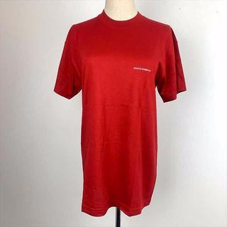 ドルチェアンドガッバーナ(DOLCE&GABBANA)の残り2枚!D&G超人気メンズでもレディースでも赤Tシャツ特価2500円!(Tシャツ/カットソー(半袖/袖なし))