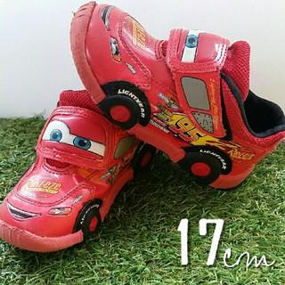 Disney - 17.0cm【 マックイーン 】マジックテープ 靴