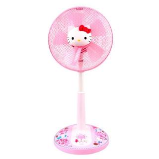 サンリオ(サンリオ)のセール!【新品】Sanrio Hello Kitty 30cm リビング扇風機(扇風機)