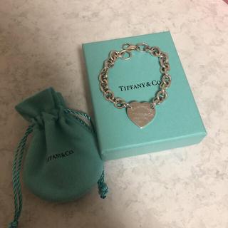 Tiffany & Co. - ティファニー ハートタグ ブレスレット