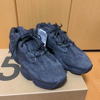 アディダス(adidas)の26 adidas YEEZY 500 UTILITY BLACK(スニーカー)
