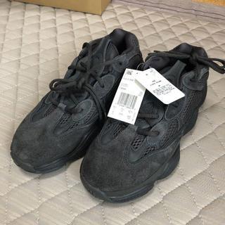 アディダス(adidas)の27 adidas YEEZY 500 UTILITY BLACK(スニーカー)