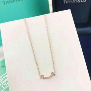 Tiffany & Co. - ティファニー Tスマイル ネックレス Tiffany & Co.