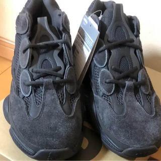 アディダス(adidas)の28 adidas YEEZY 500 UTILITY BLACK(スニーカー)