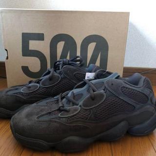 アディダス(adidas)の26.5 adidas YEEZY 500 UTILITY BLACK(スニーカー)