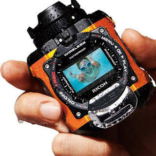 RICOH - 【ほぼ未使用】防水アクションカメラ WG-M1gopro ゴープロ