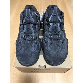 アディダス(adidas)の27.5 adidas YEEZY 500 UTILITY BLACK(スニーカー)