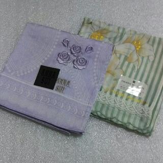 アナスイ(ANNA SUI)のアナスイ&ピエールバルマン☆大判ハンカチ2枚セット(ハンカチ)