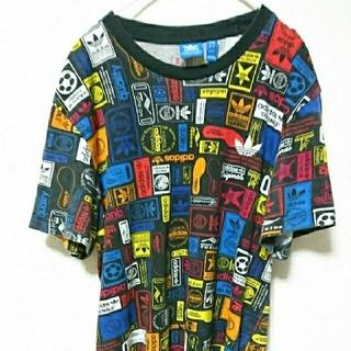 アディダス(adidas)のadidas アディダス 柄物Tシャツ(Tシャツ/カットソー(半袖/袖なし))