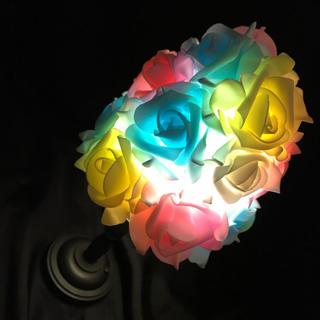 EVA 薔薇 バラ アンティーク調ライト 間接照明 テーブルランプ ランプ(その他)