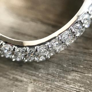 プラチナ製 ギラギラ ダイヤモンド1.4ctリング(リング(指輪))