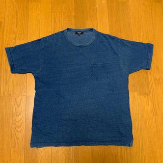 ビームス(BEAMS)のBEAMS HEAHT インディゴTシャツ 【M】(Tシャツ/カットソー(半袖/袖なし))