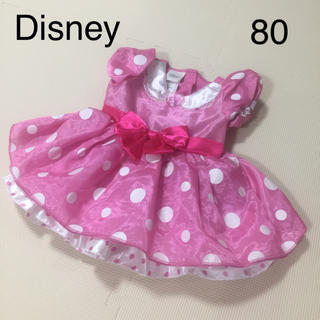 Disney - ディズニー ミニー ワンピース ドレス コスプレ 80 ピンク ハロウィン