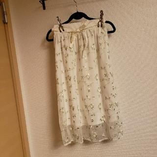 ジーユー(GU)の美品 GU 子供 女の子 チュールスカート 150cm(スカート)