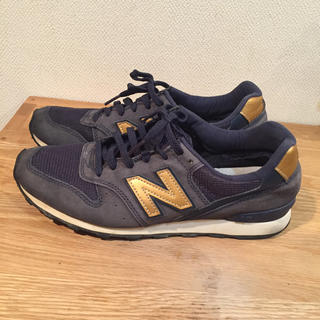 ニューバランス(New Balance)のニューバランス スニーカー ネイビー 996 25センチ(スニーカー)