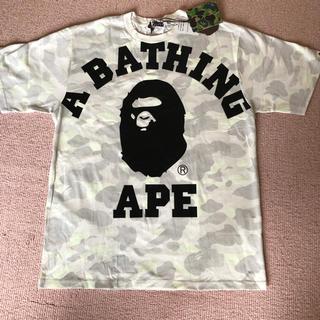 A BATHING APE - APE蛍光半袖