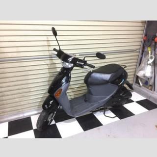 スズキ - 埼玉県深谷市 スズキ レッツ4 原付 スクーター 50cc バイク ブラック