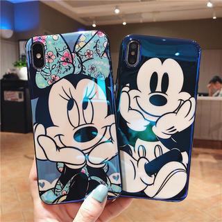 Disney - ミッキーマウス  ミニーちゃん  iPhoneカバー 可愛い ♡