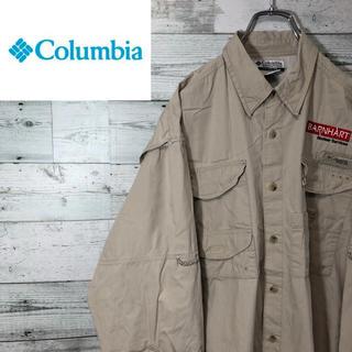 Columbia - コロンビア☆PFG 刺繍 ロゴタグ フィッシングシャツ