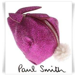ポールスミス(Paul Smith)の新品箱付きPaul Smith 本革 小銭入れ財布 マルチポーチ スペイン製 (コインケース/小銭入れ)