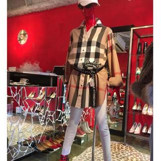 ダブルスタンダードクロージング(DOUBLE STANDARD CLOTHING)のダブスタ  チェックシャツワンピース チュニック(シャツ/ブラウス(長袖/七分))