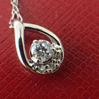 4℃ - 4°C k10 ネックレス ペンダント ダイヤモンド 美品 特価です