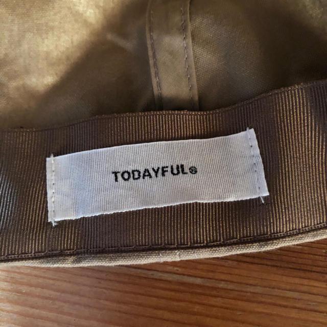 TODAYFUL(トゥデイフル)のtodayful コットンパラフィンキャップ レディースの帽子(キャップ)の商品写真