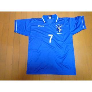アスレタ(ATHLETA)の☆美品 ユニフォーム ブラジル代表 away 半袖 ATHLETA サッカー L(ウェア)