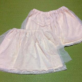 ジーユー(GU)のguチュールスカート2枚(スカート)