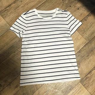 MUJI (無印良品) - 無印良品 Tシャツ ボーダー