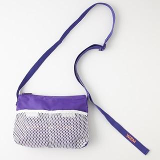 マウジー(moussy)のmoussy studiowear サコッシュ 紫(ショルダーバッグ)