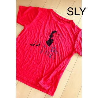 スライ(SLY)の SLY(Tシャツ(半袖/袖なし))