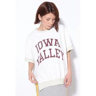 ローズバッド(ROSE BUD)のローズバッド ビッグロゴ カレッジ カットソー Tシャツ ビッグシルエット(カットソー(半袖/袖なし))