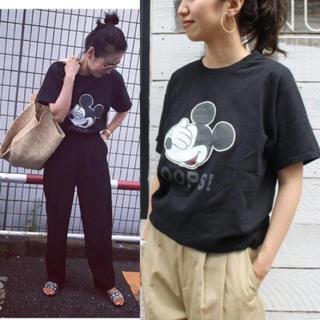 フレームワーク(FRAMeWORK)のFRAMeWORK ミッキーTシャツ 美品(Tシャツ(半袖/袖なし))