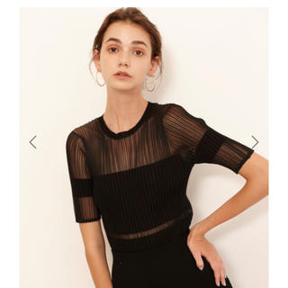 ルシェルブルー(LE CIEL BLEU)のちなさま専用☀︎大人気完売品 ブラックセット売り(ひざ丈スカート)