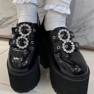 バブルス(Bubbles)のbubbles 厚底 靴 シューズ(ローファー/革靴)