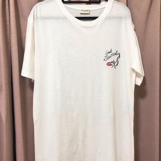 サンローラン(Saint Laurent)の美品☆サンローラン☆リップスモーキングtシャツ(Tシャツ/カットソー(半袖/袖なし))
