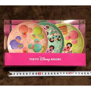 Disney - ミニー スイーツ柄 プレート 3枚 セット ② ディズニーリゾート 正規品